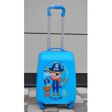 Детский чемодан для мальчика Пират