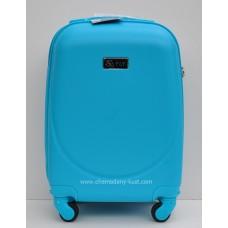 Маленький чемодан на колесах Wings Express голубой
