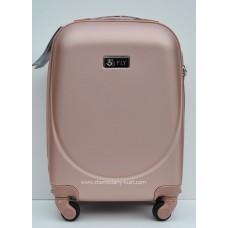 Маленький чемодан на колесах Wings Express розовый
