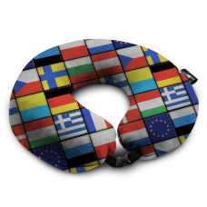 Дорожная подушка Coverbag Флаги
