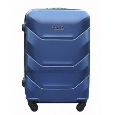 Пластиковый чемодан Wings Краб Синий