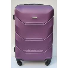 Пластиковый чемодан Wings Краб бордовый