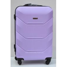 Пластиковый чемодан Wings Краб сиреневый