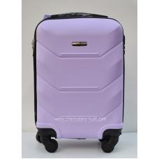 Маленький чемодан на колесах Wings Краб сирень
