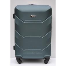 Пластиковый чемодан Wings Краб изумрудный