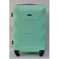 Пластиковый чемодан Wings Краб Мятный