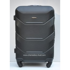 Пластиковый чемодан Wings Краб черный