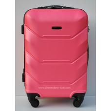 Пластиковый чемодан Wings Краб малиновый