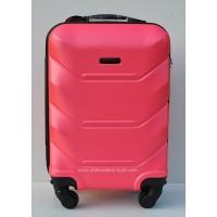 Маленький чемодан на колесах Wings Краб малина