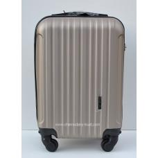 Маленький чемодан на колесах Wings Travel бронза