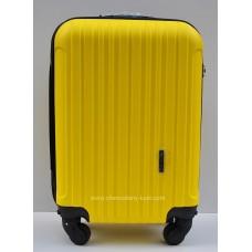 Маленький чемодан на колесах Wings Travel желтый