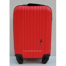 Маленький чемодан на колесах Wings Travel красный
