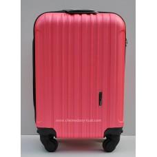 Маленький чемодан на колесах Wings Travel малина