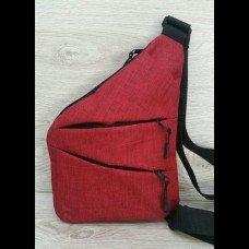 #4021 Сумка через плече (Красная)