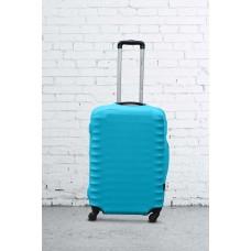 Чехол на чемодан Дайвинг бирюза