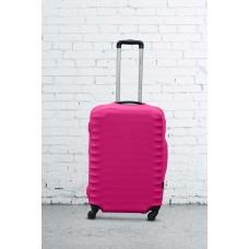 Чехол на чемодан Дайвинг розовый