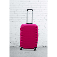 Чехол на чемодан Дайвинг малиновый