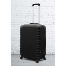 Неопреновый чехол на чемодан черный