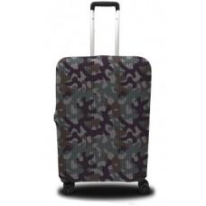 Чехол на чемодан камуфляжный