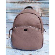 Женская сумочка-рюкзак David Jones 5959 бежевая