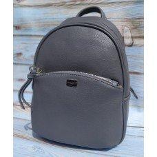 Женская сумочка-рюкзак David Jones 5959 серая
