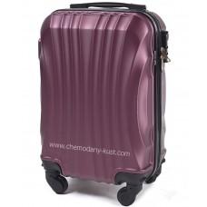 Маленький чемодан на колесах Wings Fun бордовый