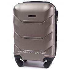 Маленький чемодан на колесах Wings Краб бронза