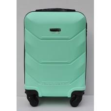 Маленький чемодан на колесах Wings Краб Мятный