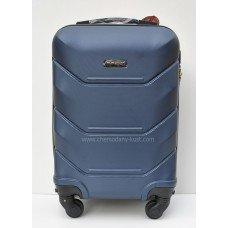 Маленький чемодан на колесах Wings Краб Синий