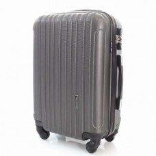 Пластиковый чемодан Wings Trevel Графитовый