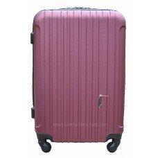 Пластиковый чемодан Wings Trevel бордовый