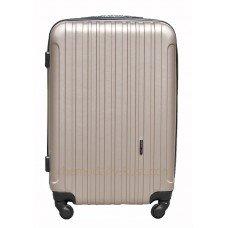Пластиковый чемодан Wings Trevel Бронза