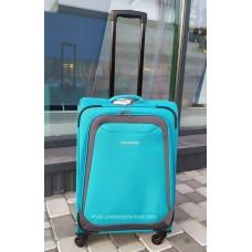 Тканевый чемодан Travelite Naxos мятный