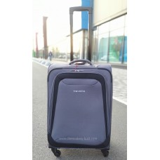 Тканевый чемодан Travelite Naxos серый