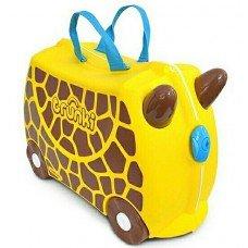 Детский чемодан на колесах Trunki Жираф