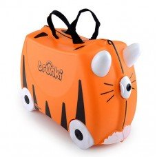 Детский чемодан на колесах Trunki Тигр