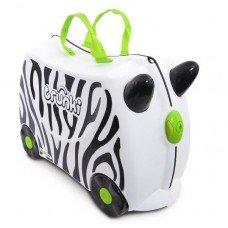 Детский чемодан на колесах Trunki Зебра