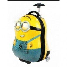 Детский чемодан на колесах Миньон